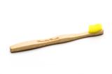 Kindertandenborstel - geel_