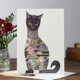 E001 - zwarte kat_