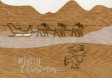 619 - Santa Claus met slee Pop Up_