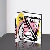55065 - Notitieboek A6 - All is Lovezacht leer_