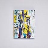 54983 - Notitieboek A5 - Art is Like bij Marija Mandic zacht leer_