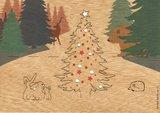 1530 -  kerst in het woud Pop Up_