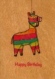 1389 - Piñata Happy Birthday_