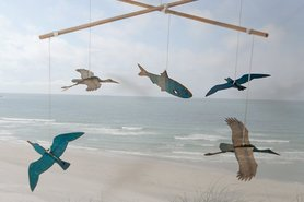 319 - vogels en vis