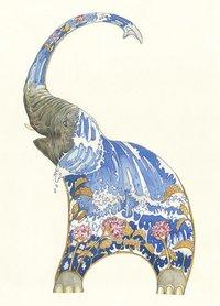 E031 - water spuitende olifant