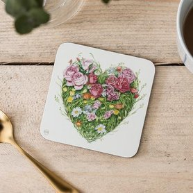 C092 - hart van bloemen en gras
