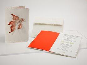 0558 - vis handgeschept papier