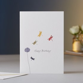 EH018 - Dragonflies Birthday