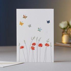 EH065 - Daisies & Butterflies