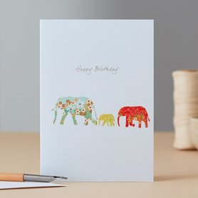 EH087 - Elephant Family Birthday