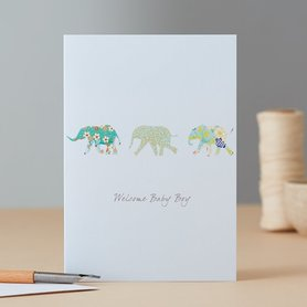 EH094 - Elephants Baby Boy