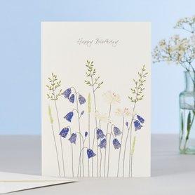 EH137 - Harebells & Daisies Birthday