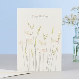EH138 - Daisies & Grass Birthday