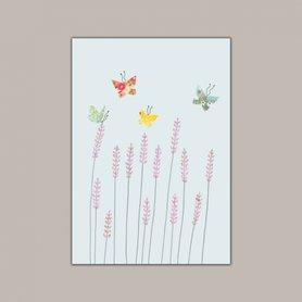 EH179 - Lavender & Butterflies