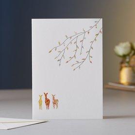 EH030 - Deer & Tree Christmas