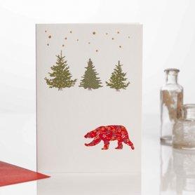 EH159 - Polar Bear & Trees