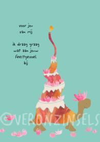 B157-010 - kaart feestgevoel