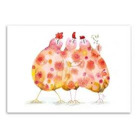 MP005 Three hens