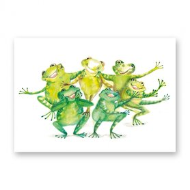 MP116 Funny frogs