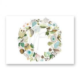 MP127 Lovely green wreath