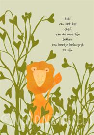 B171-010 - kaart baas van het bos