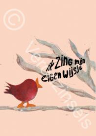 B123-034 - poster eigenwijsje