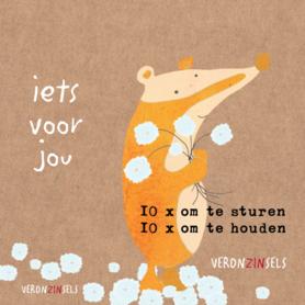 M001-011 - ansichtkaartenboekje Iets voor jou