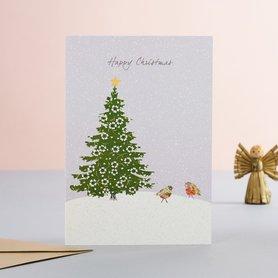 EH191 - Robins & Christmas Tree
