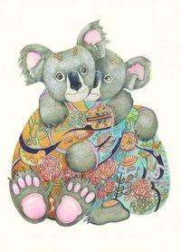 E118 -  knuffelende koala's