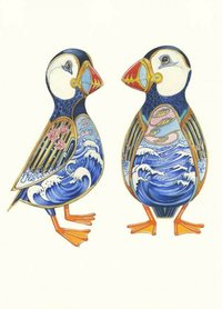 E120 - twee papegaaiduikers
