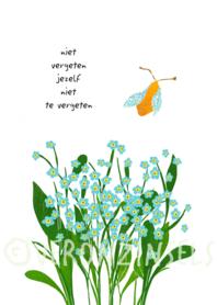 Z012-010 - kaart vergeetjeniet
