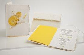 1199 - slak handgeschept papier