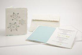 1207 - sneeuw handgeschept papier