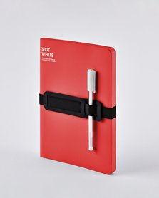 55218 - Notitieboek A5 - Not White Red