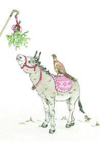 CH016 - Mistletoe Donkey
