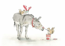 CH015 - Red Nose Donkey
