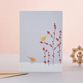 EH222 - Two birds & Berries