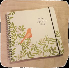 B123-232 - notitieboek eigenwijsje