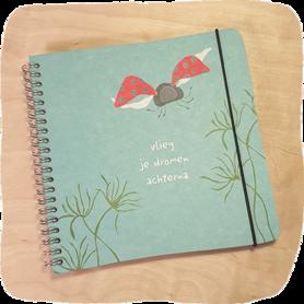 B168-232 - notitieboek vlieg
