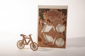 1323 - fiets Grand Wooden Assembly