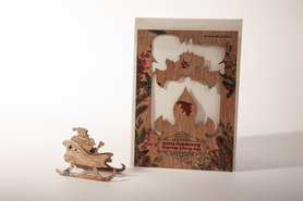 1339 - Kerstman Grand Wooden Assembly