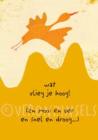 B186-010 - kaart hoog vlieger