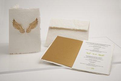 0186 - vleugels handgeschept papier