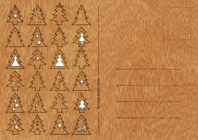387 - 24 dennenbomen