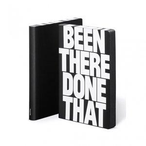 52002 - Notitieboek A5 - Been There, zacht leer
