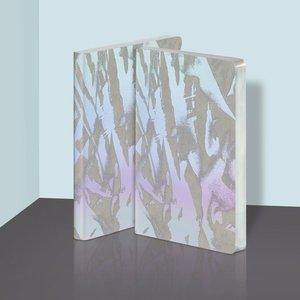 54457 - Notitieboek A5 - Crystal