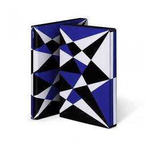 52309 - Notitieboek A5 - Kaleidoscope, zacht leer
