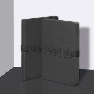 53504 - Notitieboek A5 - Voyager Black