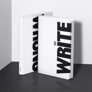 52224 - Notitieboek A5 - Write - Wrong, zacht leer