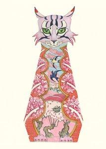 E057 - roze kat